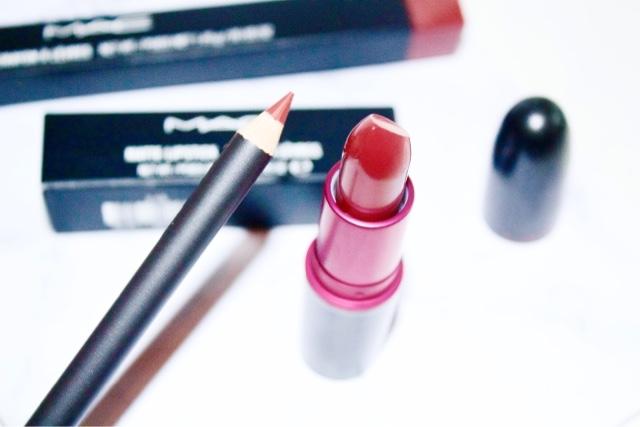 MAC Brick Liner & Viva Glam I Lipstick Review