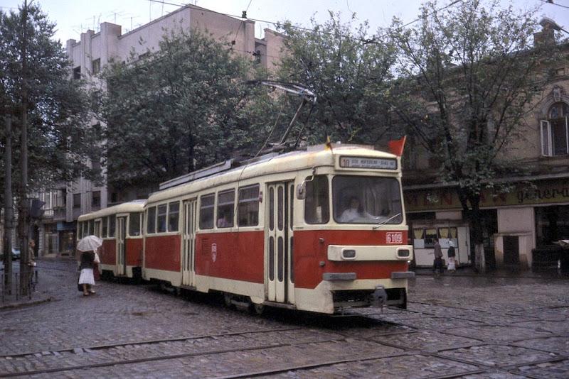 Tram in Bucharest