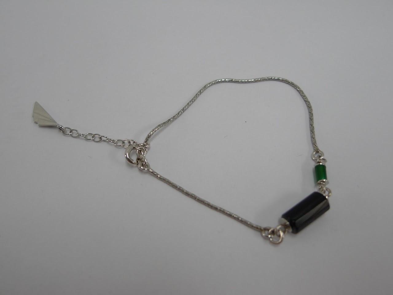 W. Kruk Sterling Silver Bracelet