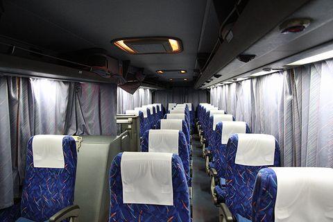 中国JRバス「鹿児島ドリーム広島号」 641-4909 車内