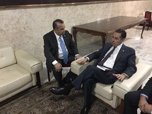 Rogério com ministro Barroso