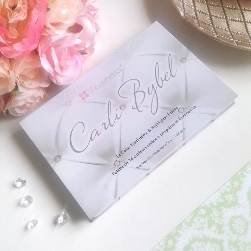 Carli Bybel 14 Colour Eyeshadow & Highlighter Palette