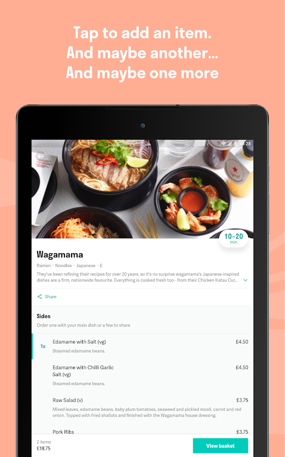 Deliveroo: Restaurant Delivery- screenshot