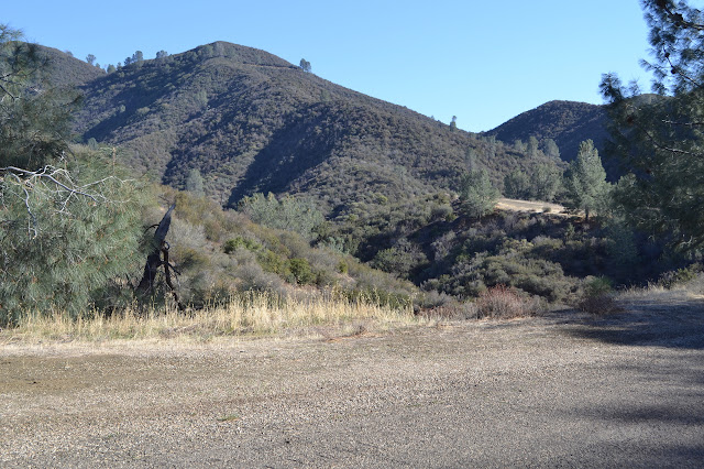 McKinley Fire Road on the hills above