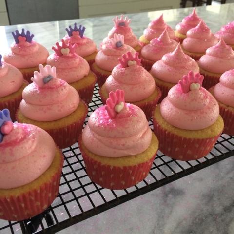 Princess Pink Cupcakes Recipe Too