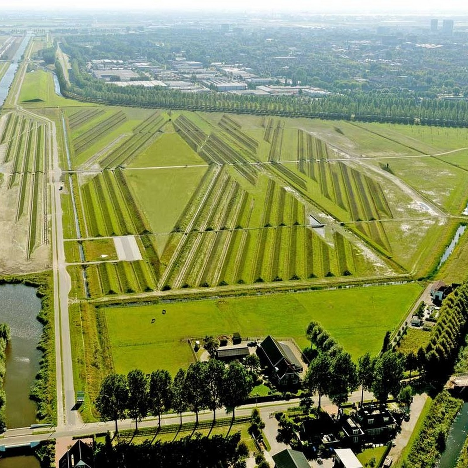 How Amsterdam's Airport Is Fighting Noise Pollution With Land Art