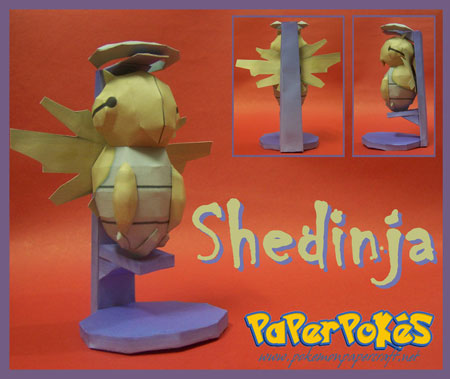 Pokemon Shedinja Papercraft