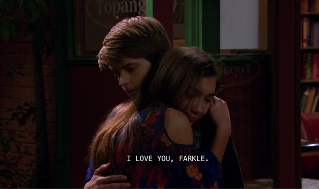7630df58ae6a Farkle is convinced that Riley loves Lucas