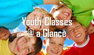 Youth Classes @ a Glance