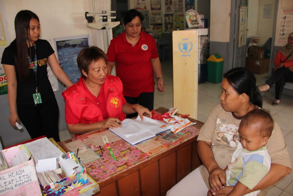 The World Food Programme's Philippines nutrition programmes