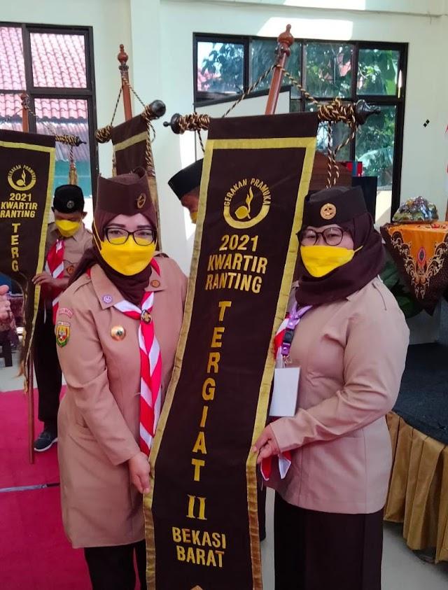 ADE PUSPITASARI terpilih sebagai Ketua Gerakan Pramuka Kota Bekasi 2021 - 2026