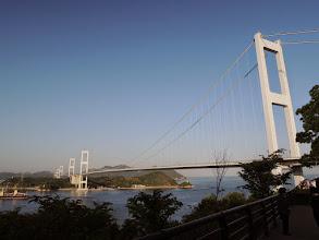 Photo: しまなみ海道にある橋。非常にきれいである。