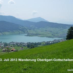 Wanderung Oberägeri - Gottschalkenberg