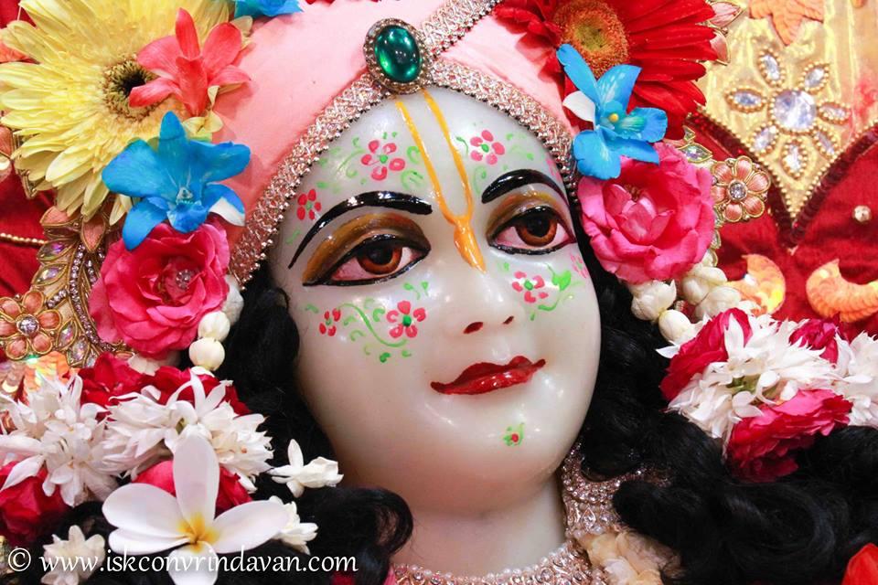 ISKCON Vrindavan Shringar Deity Darshan 2 April  2016  (6)