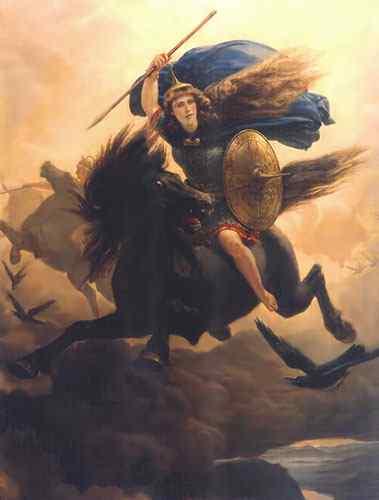 Valkyria, Asatru Gods And Heroes