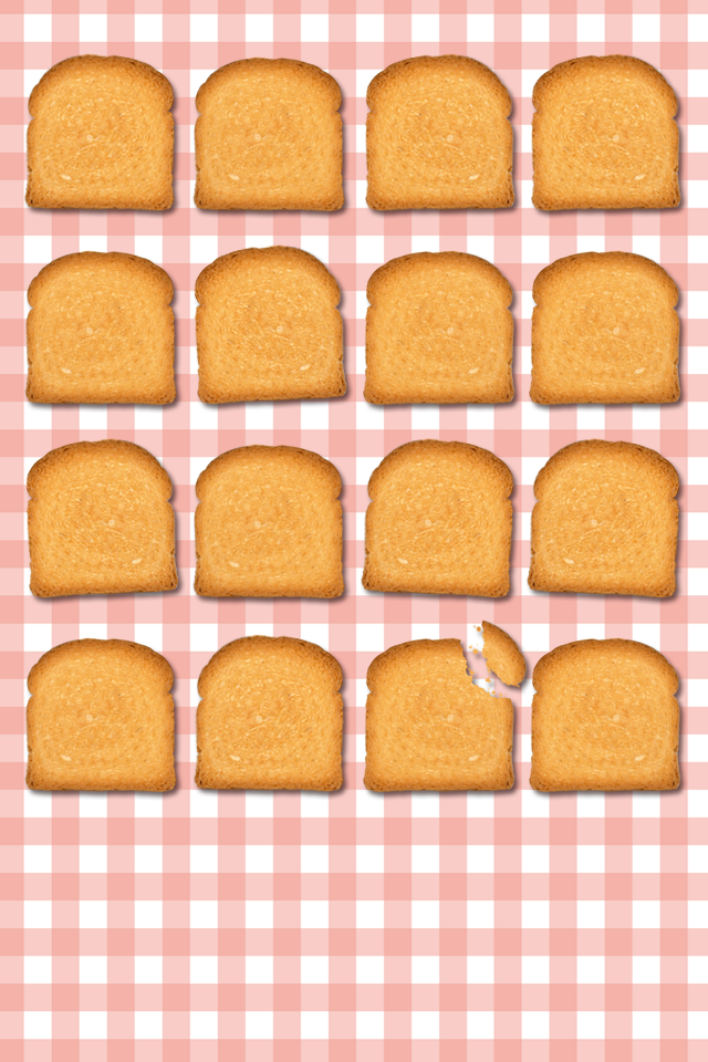 Pink Bread Biscuits Pictures Wallpapers HD For iPhone4