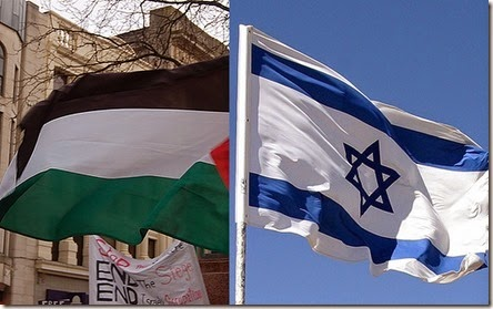Israel-palestine-flags1