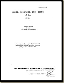 Design Integration & Testing of the F-15 McAir 74-013_01