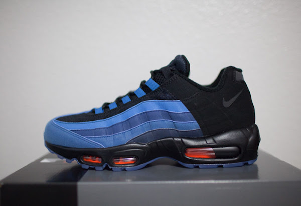 Detailed Look at the Quickstrike Nike Air Max 95 LeBron James