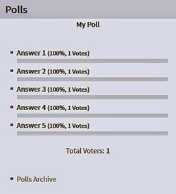 wp-polls results page