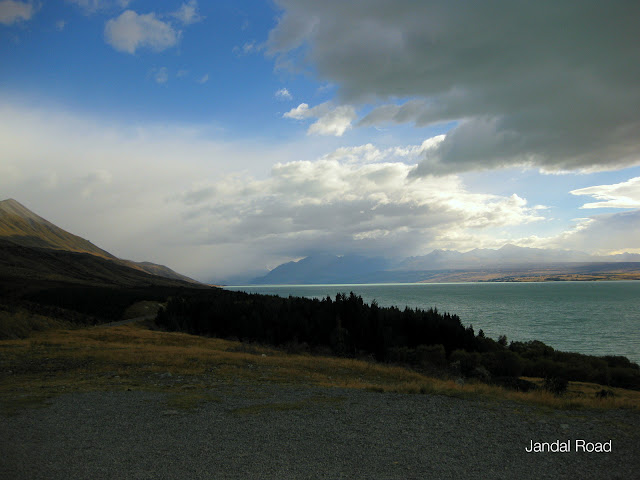 Lake Pukaki, fed by the Tasman Glacier