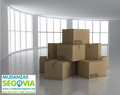 Empresas de mudanzas en Segovia