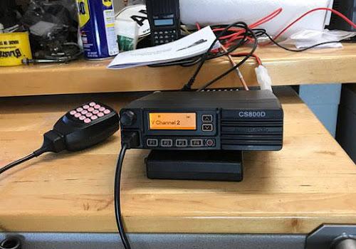 CS800 (UHF) and CS801 (VHF) DMR mobile radios: [CS800DMR] Digital