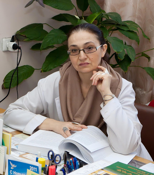 Head of laboratory – Ph.D.Irina Blayda