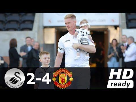 [Video] Swansea Legends vs Manchester United Legends 2-4 – Highlight & Goals