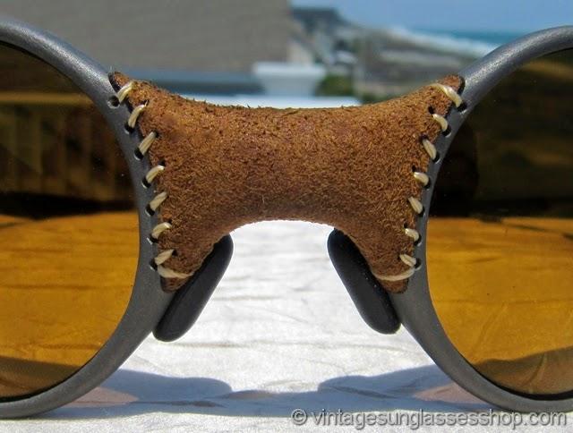 Oakley Mars Sunglasses  iconic oakley mars michael jordan leather sunglasses c 1997 are