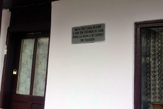 Casa lui Ion Creangă din Fălticeni, transformată de PPDD în sediu de partid