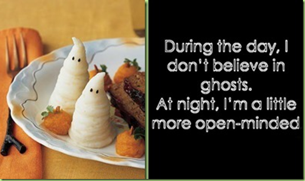 halloween ghost potatoes
