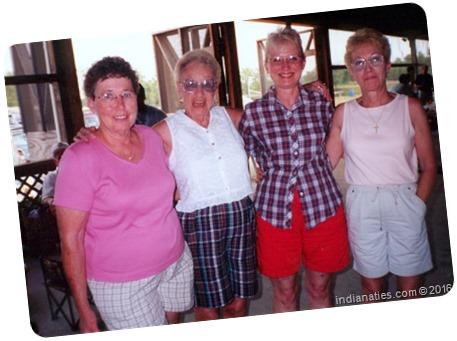 Niehaus Reunion, 2003: Evelyn, Charlotte, Martha, Diana