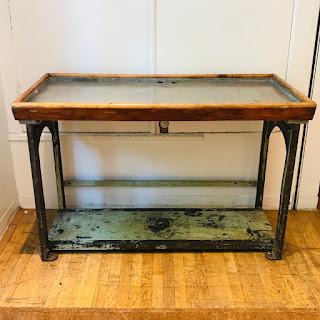 Industrial Iron Workbench