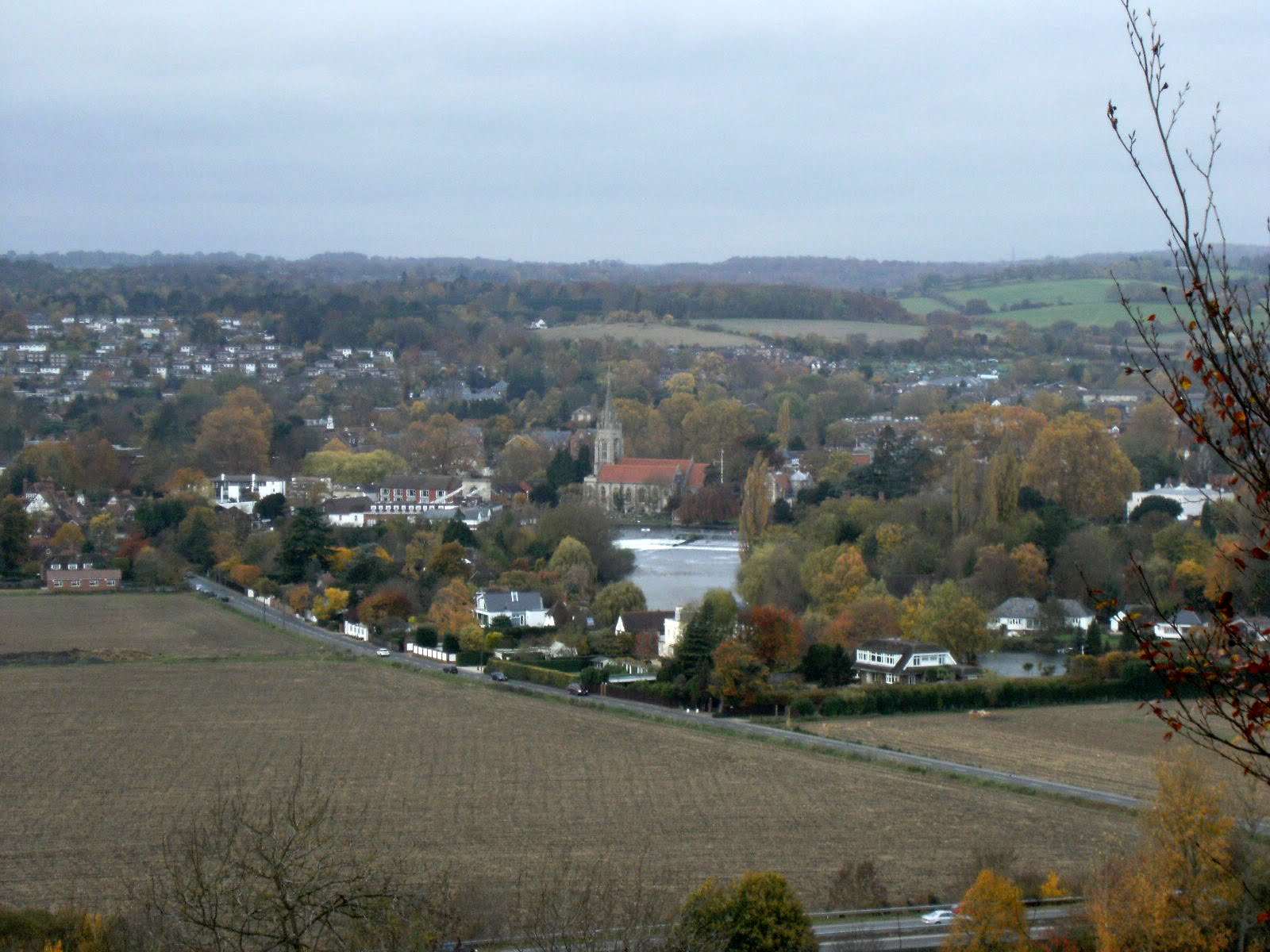 1011040015 Marlow from Bisham Woods