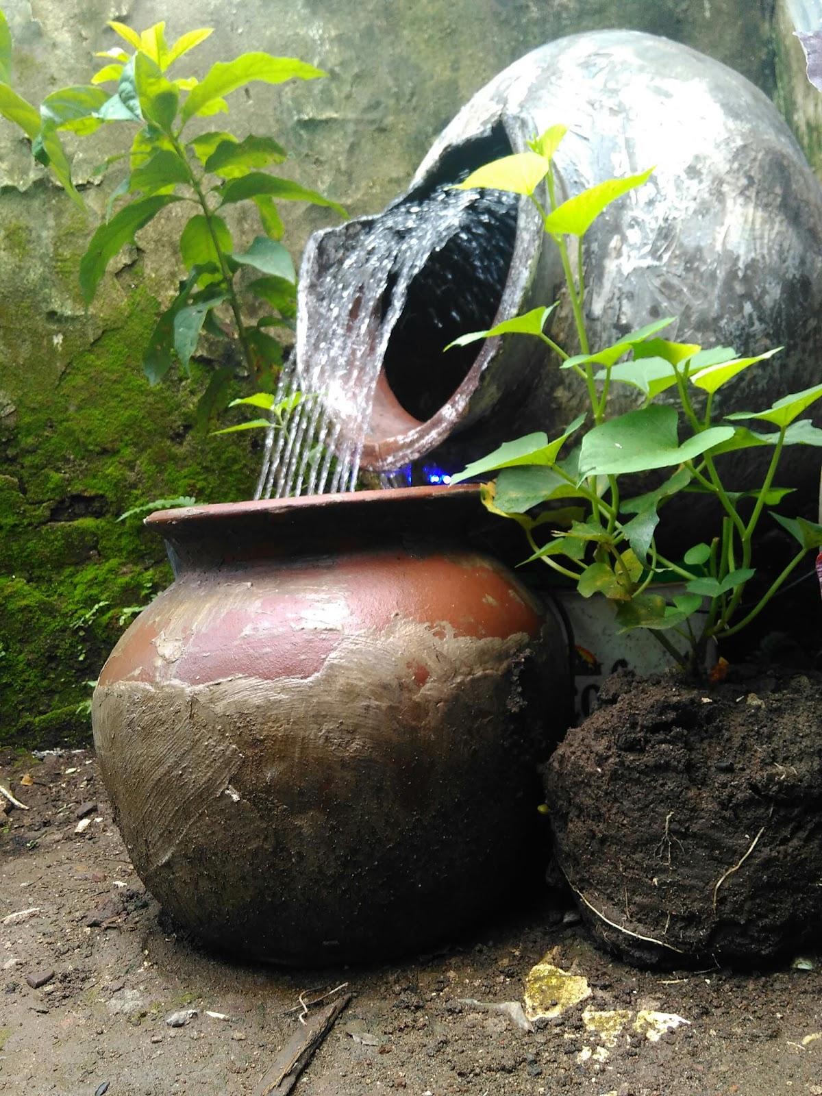Ridwan Arif: Cara Membuat Air Mancur dengan Rp. 50.000