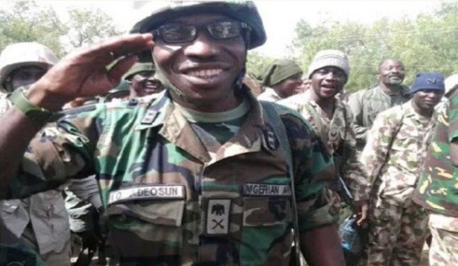 JUST IN: Buhari reportedly replaces Gen. Buratai appoint General Adeosun as the new chief of Army staff