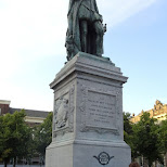 Willem den eerste, founder of the Netherlands in Amsterdam, Noord Holland, Netherlands