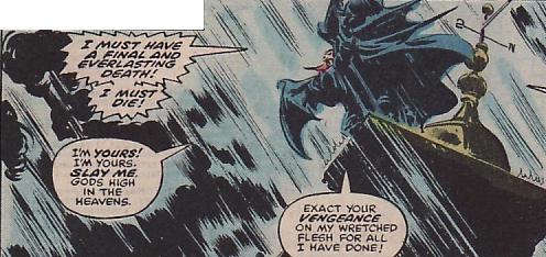 Tomb of Dracula #60, Gene Colan, the death of Janus