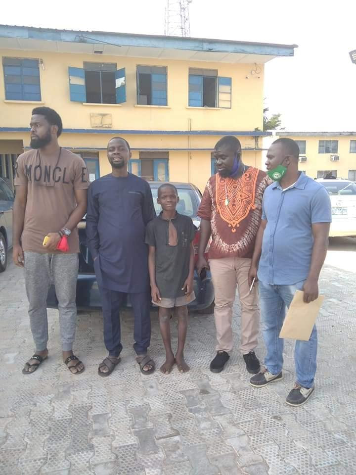 Edo Police Release 11-Year-Old Boy In Police Uniform Who Attacked Police Station