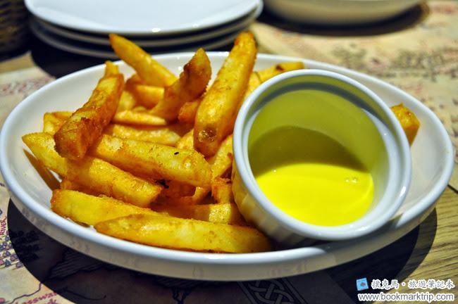 納尼亞義式餐廳薯條
