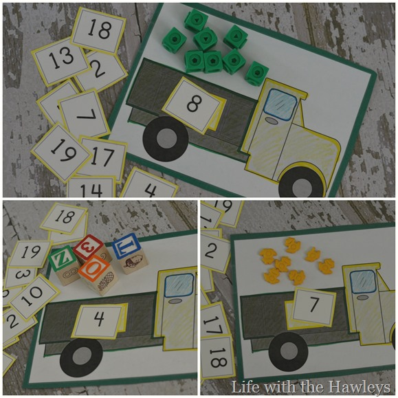 Dump Truck Counting- Life with the Hawleys