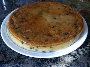 Photo: Nueva versión de Amasake Sil del puding de polenta de fruta de temporada del libro Pasión por la Cocina Sana