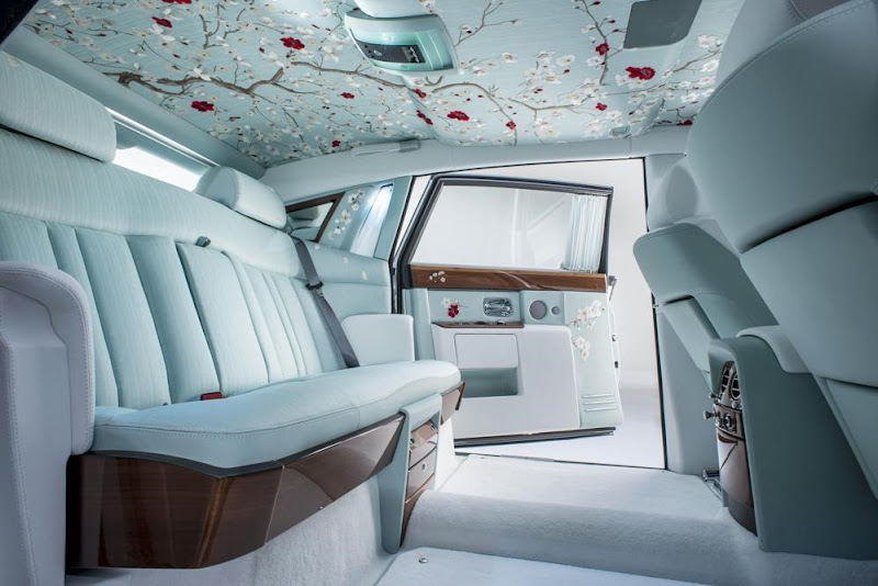 Interior of Rolls-Royce Phantom Serenity
