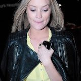 WWW.ENTSIMAGES.COM -  Laura Whitmore leaving    Daft Punk Listening Party May  London 13th 2013                                                    Photo Mobis Photos/OIC 0203 174 1069