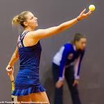 STUTTGART, GERMANY - APRIL 16 : Kristyna Pliskova in action at the 2016 Porsche Tennis Grand Prix