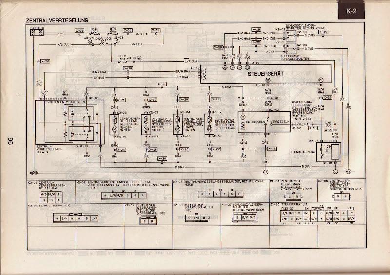 Ausgezeichnet 2001 Mazda 626 Schaltpläne Ideen - Elektrische ...