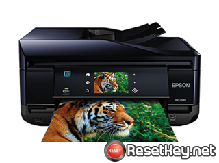 Reset Epson XP-802 ink pads are at the end of their service life