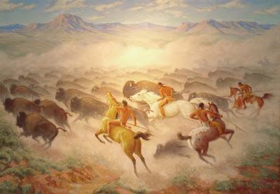 """Buffalo Hunt"""