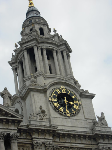 St. Paul's Cathedral. From A Guide to Abbeys and Cathedrals in the UK